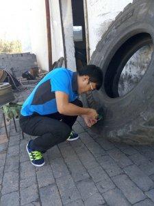 极致服务,泰凯英在新疆开展补胎培训
