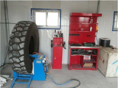 泰凯英轮胎服务站入驻某煤矿二标解决客户问题